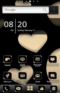 ADW Theme BlackGold