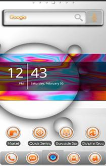SpaceBound ADW Launcher Theme