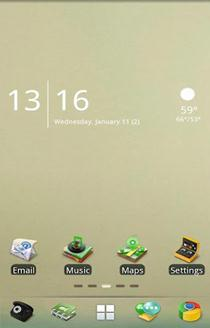 Fade Time Go Launcher EX