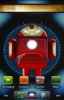 Iron Man ADW launcher
