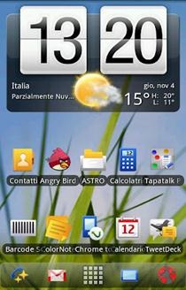 Symbian Launcher theme