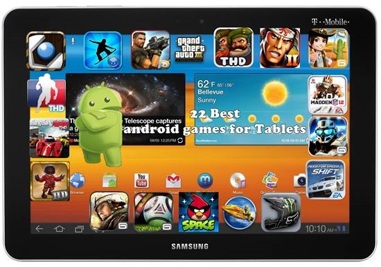 22 Best android games for Tablets – Gadget Explorer
