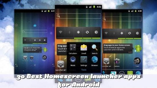 Best Home screen launcher apps for Android