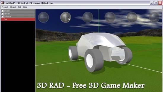 3D RAD - Free 3D Game Maker