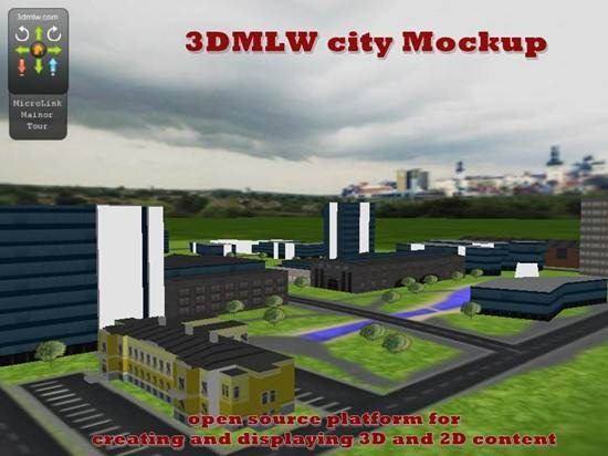 3DMLW - 3D engine and markup language based on XML