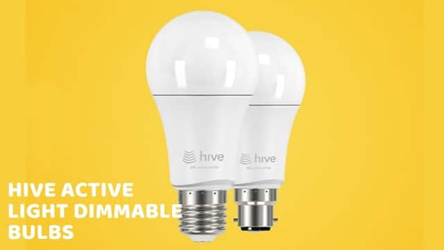 Hive Active Light Dimmable bulbs