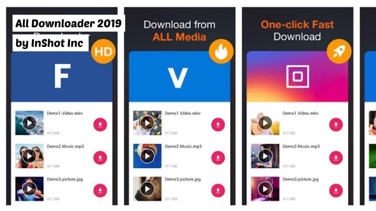 All Downloader 2019 - Best Alternative App for Vidmate
