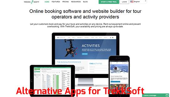 Alternative Apps for TrekkSoft