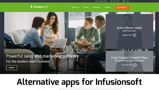 Alternative apps for Infusionsoft