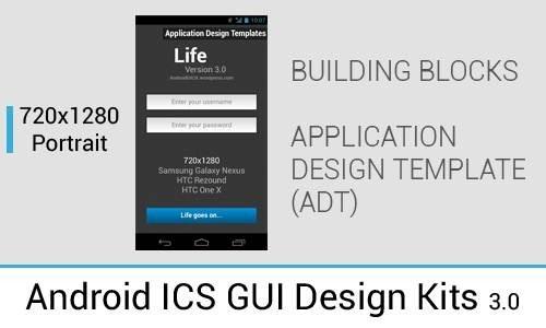 Android ICS GUI Design Kit