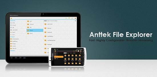 AntTek file explorer for android