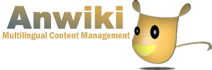 Anwiki - wiki/CMS for Multilingual and structured content
