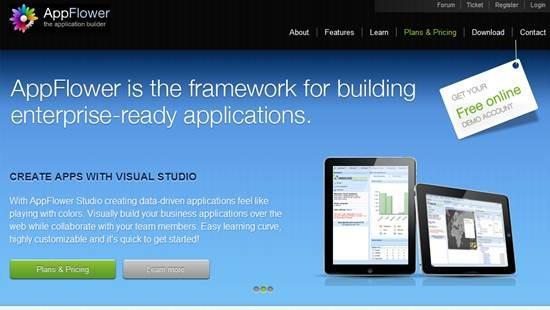 AppFlower - Rapid web application development framework