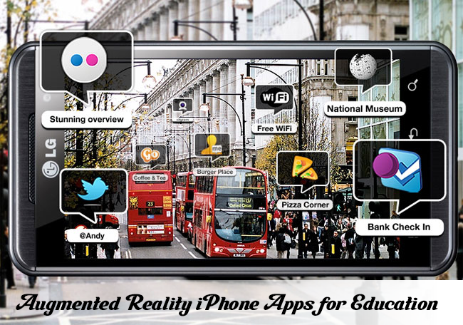 Augmented Reality iPhone Apps for Education