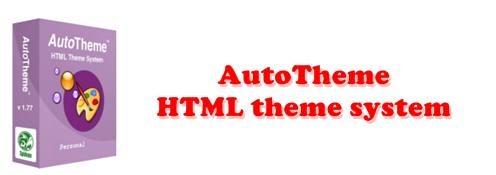 AutoTheme HTML theme system