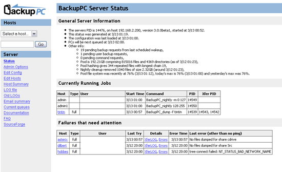 BackupPC Free Backup software for Windows, Mac, and Linux - Best Of