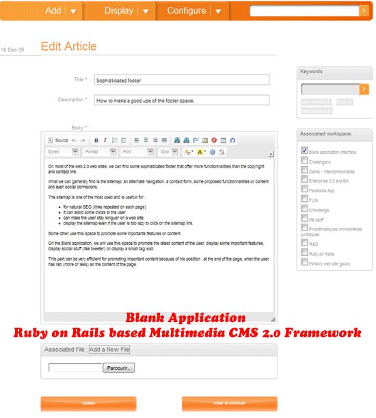 Blank-Application