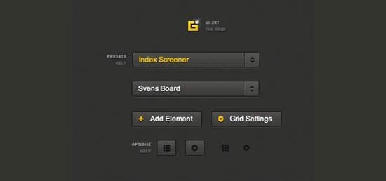 CSS Grid UI Set