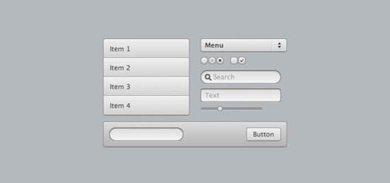 CSS3 UI toolKit