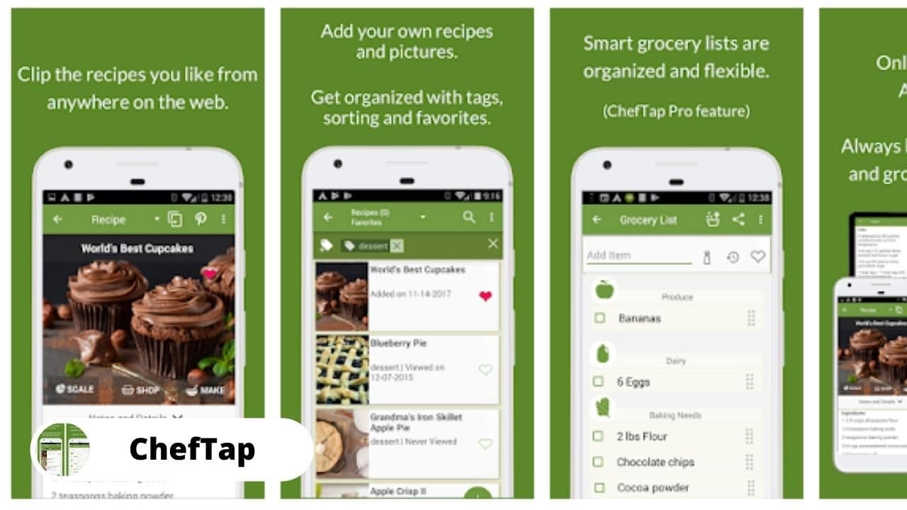 ChefTap - Best Recipe Manager for Android