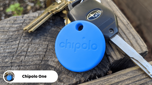 Chipolo One - Best Bluetooth Key Finders