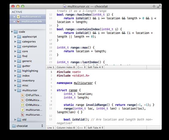 15 useful Mac OS X text editors – Gadget Explorer