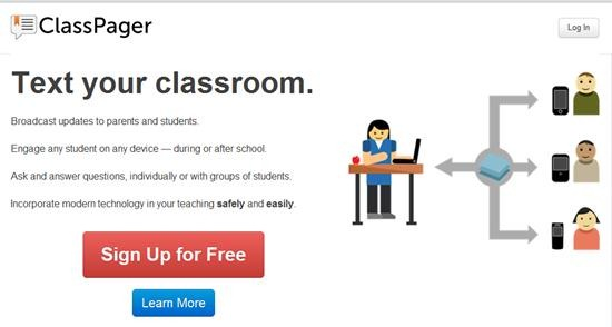 Create live classroom Polls, Q&A over SMS with ClassPager