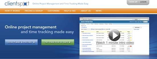 ClientSpot project management
