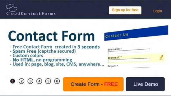 Cloud Contact Forms