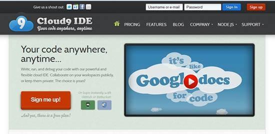 Cloud9 Cloud IDE