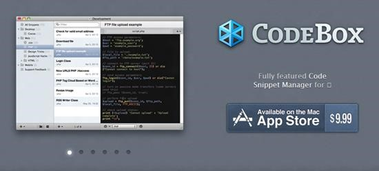 CodeBox - Best Code Snippets Manager for Mac