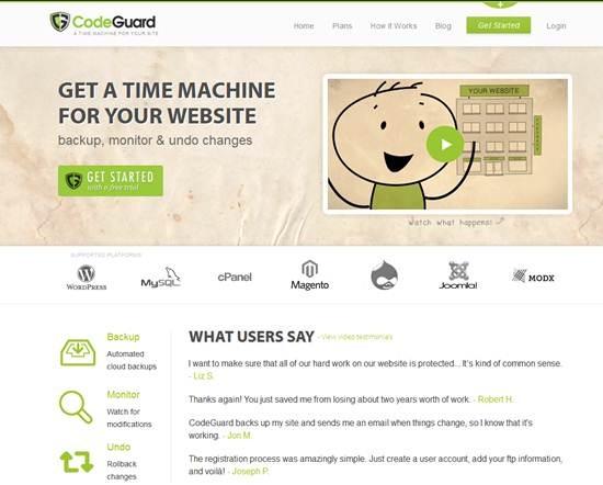 CodeGuard -  Best Website Monitoring Tools