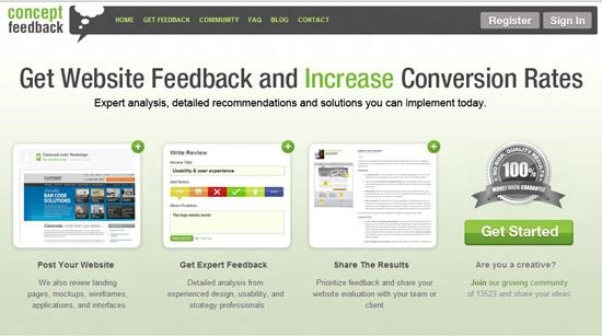 Concept Feedback Usability Testing : 13 most useful and simple Usability Testing software