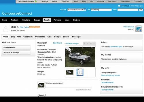 ConcourceConnect 17 open source wiki software for Teams
