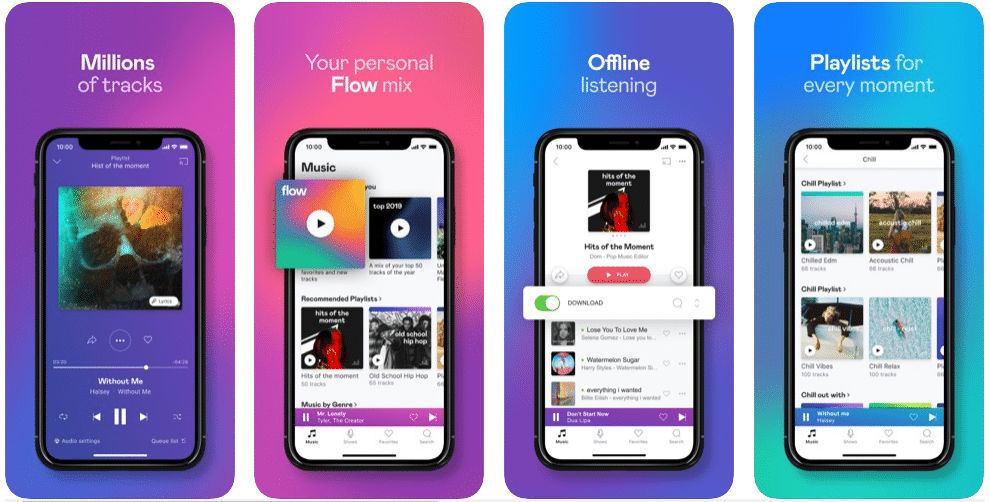 Deezer - Download Free Music on iPhone