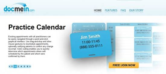 DocMeIn Top 16 online appointment scheduling software