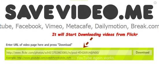 Downloading videos from Flickr How to Download Videos from Flickr [Quick Tips]