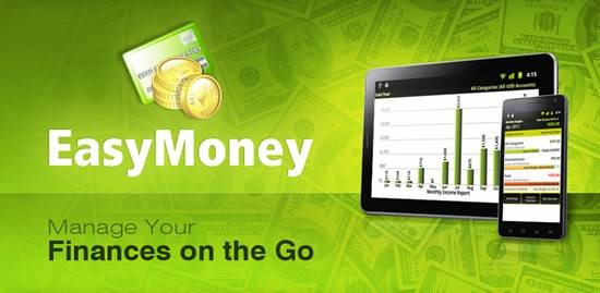 EasyMoney Personal Finance manager for Android