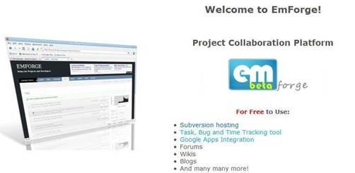 EmForge - jBPM based Project management tool