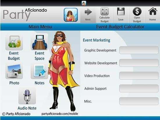 Event Planning Tools for Android