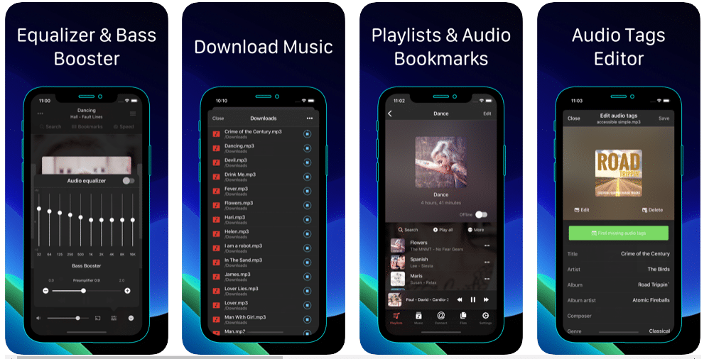 Evermusic for iPhone