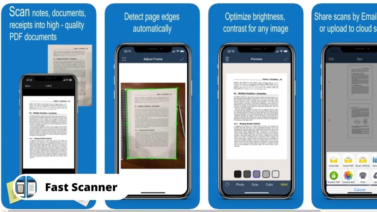 Fast Scanner - Best Alternative Apps for CamScanner
