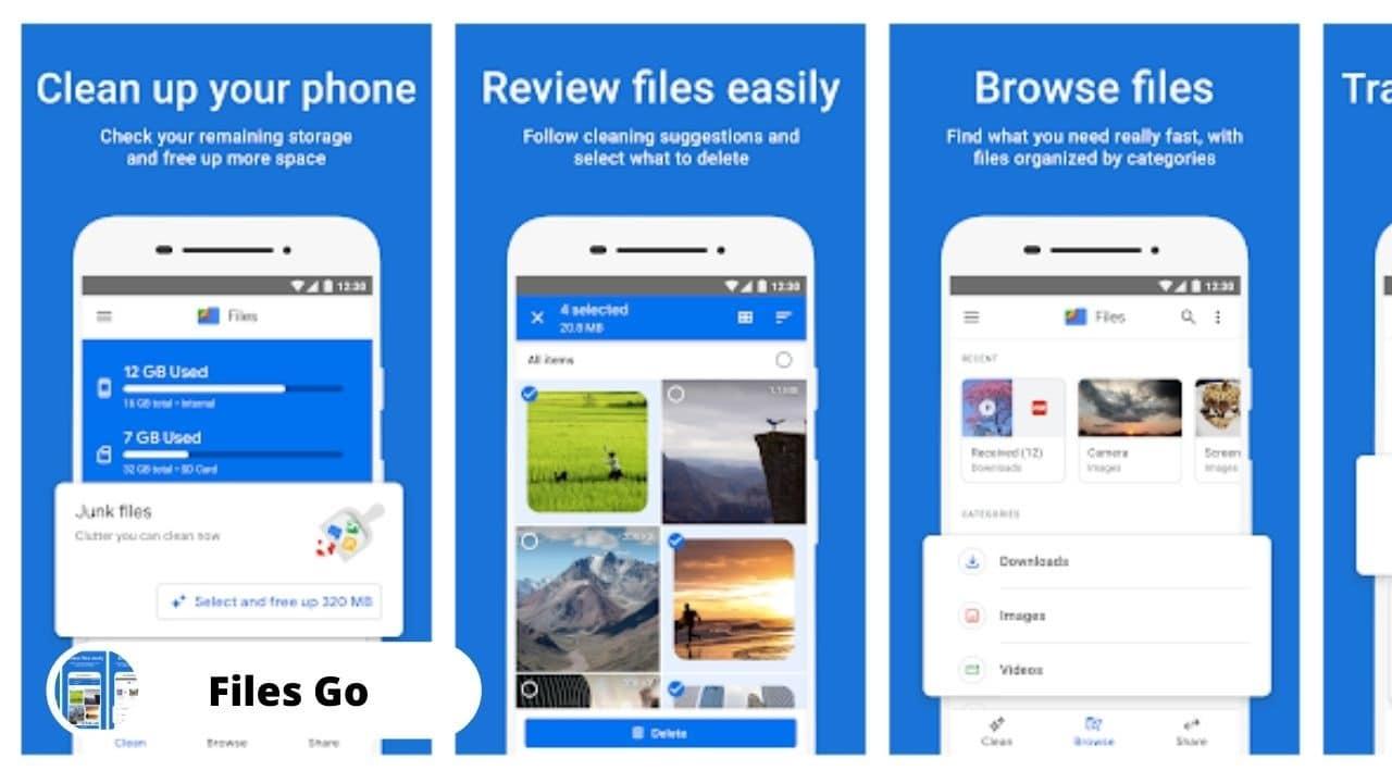 Files Go - Best Alternative Apps For SHAREit