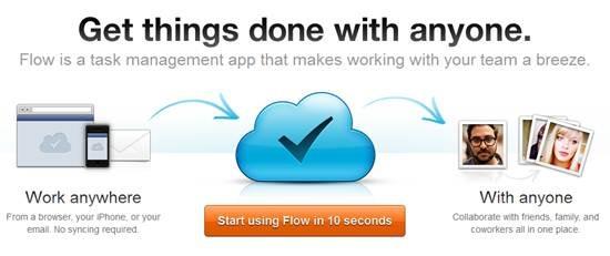 Flow - Online Task Management App