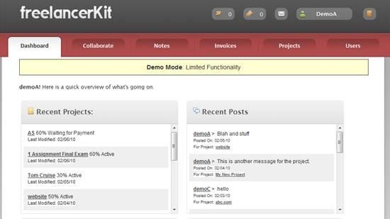FreelancerKit - PHP based Project Management Script