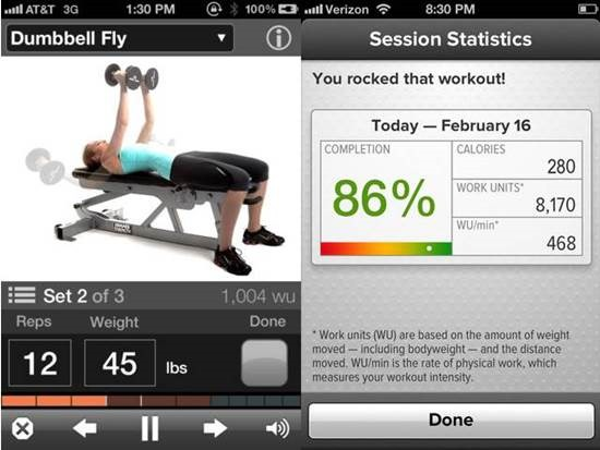 GAIN Fitness apps