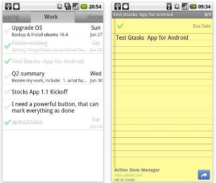 Gtasks4Android