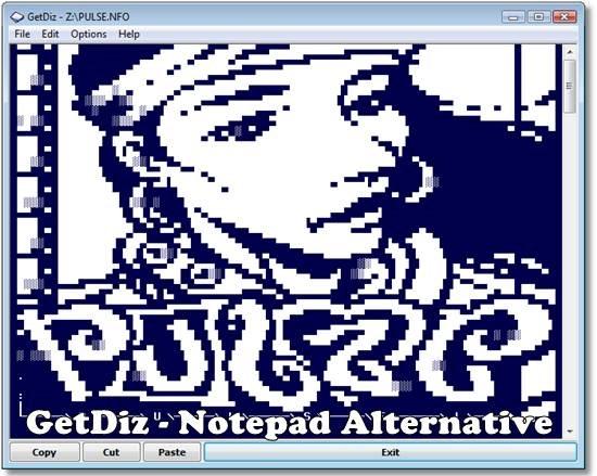GetDiz Notepad Replacement 1