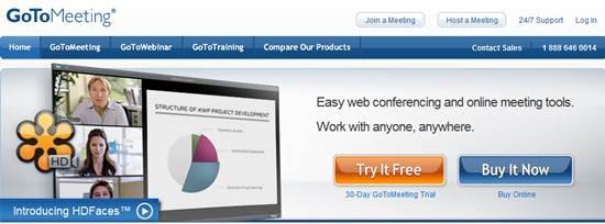 GoToMeeting online meeting