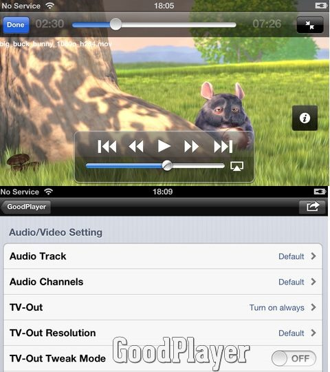 GoodPlayer Best video player for iPhone